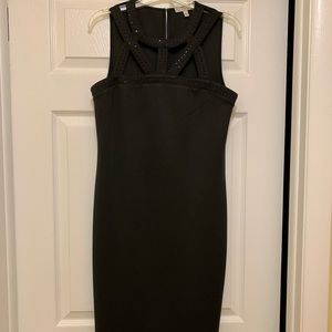Women's size 8 black sleeveless party dress